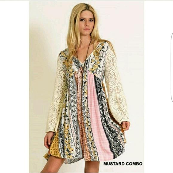 ??Plus Size Bohemian Peasant Dress??