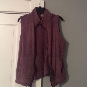 L.L Bean Fleece Zip Up Vest