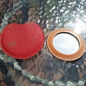 Accessories - SPANISH Leather Mirror and Case