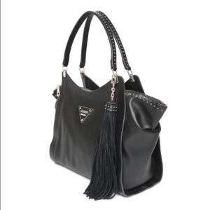 68c45e256e6d GUESS Bags - FLASH SALE Leather studded Guess bag fringe tassel
