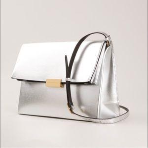 Stella McCartney Handbags - Stella McCartney silver Beckett shoulder bag