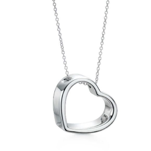 Tiffany co jewelry tiffany co geometric heart pendant chain m57940d4bd14d7b9486011be2 mozeypictures Choice Image