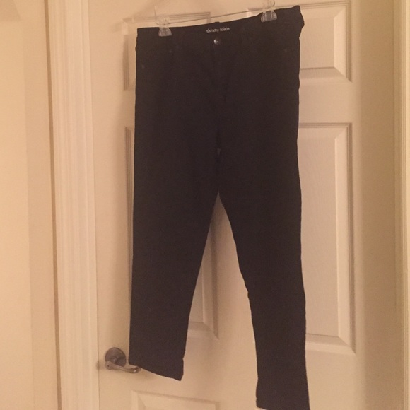 f60709f43fd QUALITY MUST HAVE PLUS SIZE BLACK SKINNY JEANS