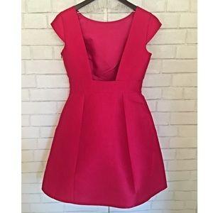 kate spade Dresses & Skirts - Kate Spade Open Back Silk Dress Pink Sz 6