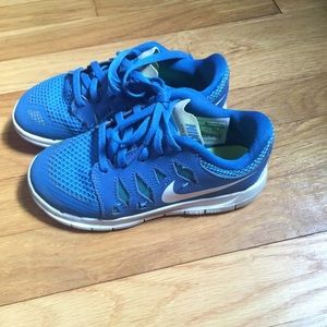 Nike Size 12 Youth Boys Blue sneakers