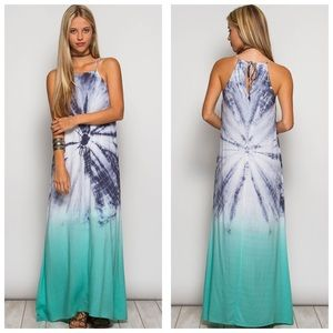 She and Sky Dresses & Skirts - Tie Dye Maxi