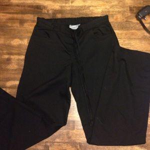 Pants - Black scrub pants