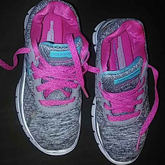 Skechers Shoes   Little Girls Tennis