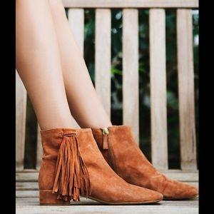 Free People Spring In Paris Boot Brandy NWT