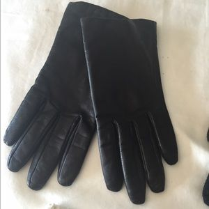Accessories - Genuine Leather Gloves with cashmere lining
