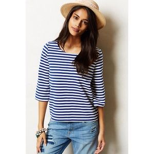 Anthropologie Genoa Stripe Top