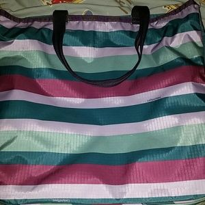 LeSportsac Handbags - LeSportsac striped tote bag