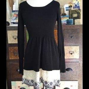 T/O Dresses & Skirts - Fitted Sweater Dress