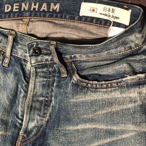 Denham Jeans Other - Denham Japanese denim jeans RAW 100% Cotton 30x32