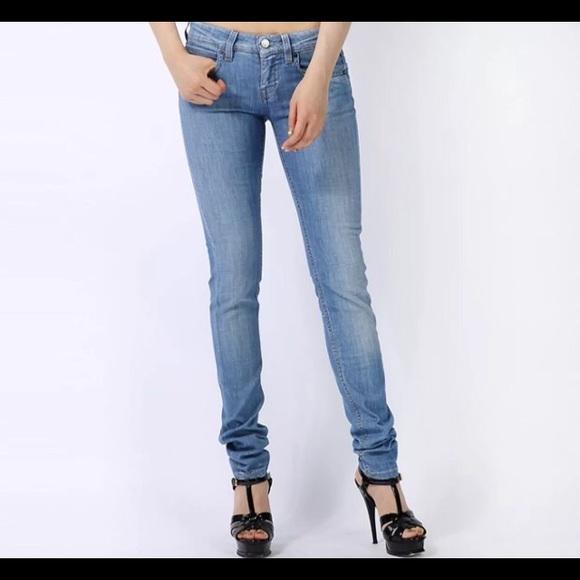 3799fc5e163a4 STELLA McCARTNEY Polka Dot Skinny Grazer Jeans 26