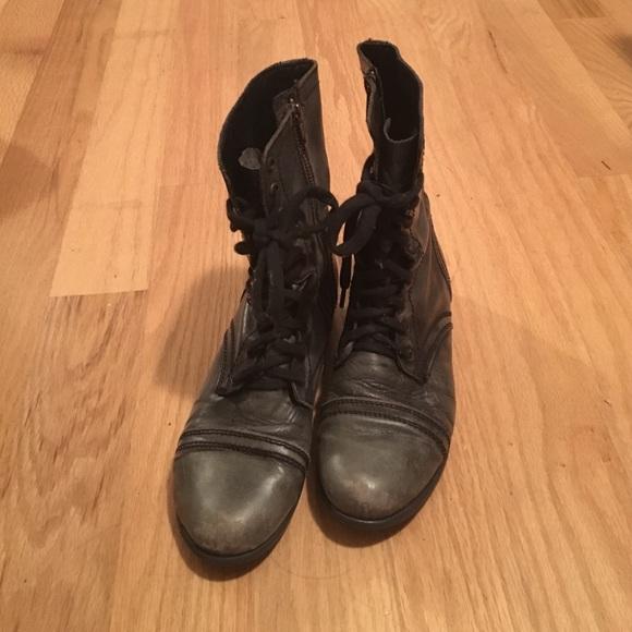 Steve madden shoes | distressed leopard print troopas | poshmark.