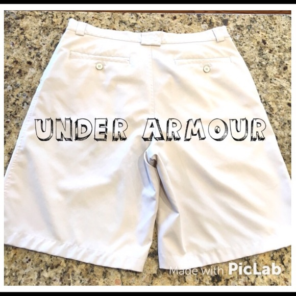 78% off Under Armour Other - Men's Under Armour Golf Shorts Size ...