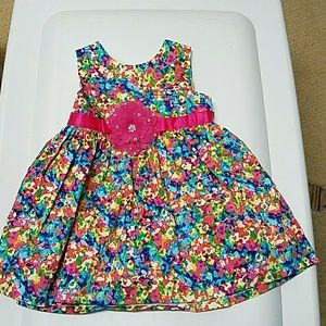 Rare Editions Other - Rare Editions floral dress. Worn once 12-18 months