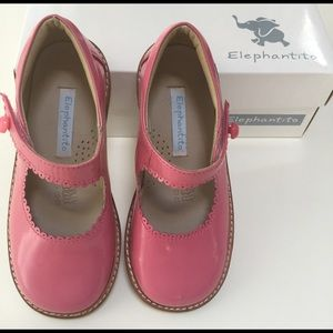 Elephantito Other - ELEPHANTITO pink leather maryjane SHOES