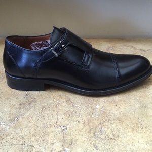 Mezlan Other - Mezlan Men's Black Leather Monkstrap Shoes