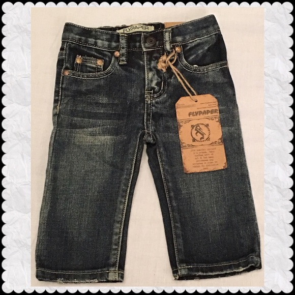 10f4a054f Flypaper Bottoms | Infant Boys Jeans By Sz 12 Months | Poshmark