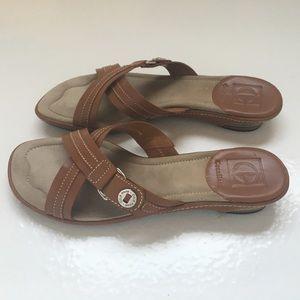 Ladies Cole Haan leather sandals sz 7.5
