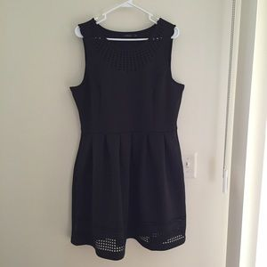 Apt. 9 Dresses & Skirts - Apt. 9 Black Cutout Scuba Sleeveless Dress