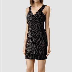 AllSaints Women Shia Tee Dress Size 2