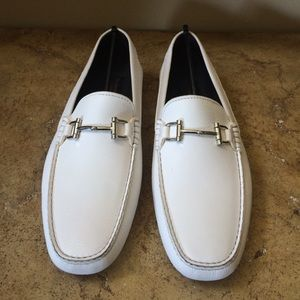 To Boot Other - To Boot New York Men's White Leather Loafers