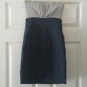 Forever 21 Strapless Bodycon Dress, Size S