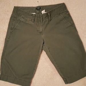 J Crew city fit shorts
