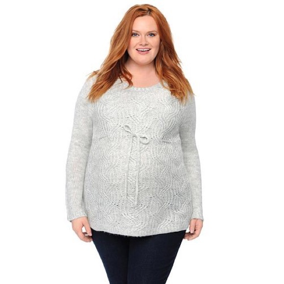 d01253140425d Motherhood Maternity Sweaters | Plussize Oh Baby By Motherhood ...