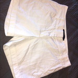 White J. Crew Shorts