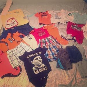 Baby boy clothes 6-9mo