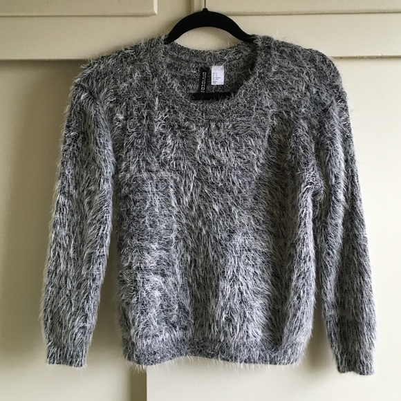 69% off H&M Sweaters - H&M 90's Fuzzy Sweater Top from Dee's ...