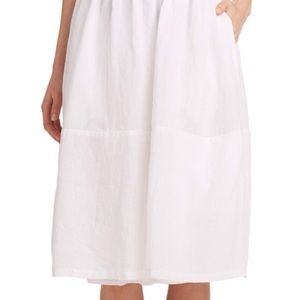 EILEEN FISHER linen skirt