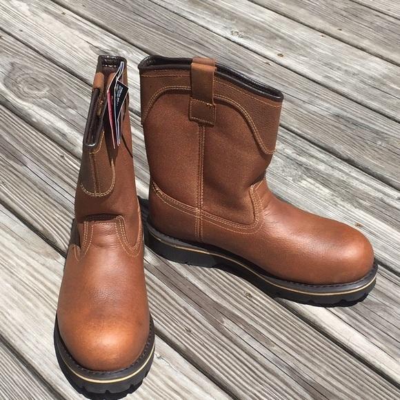 7644fcb91b6 🚨PRICE DROP🚨Brahma Bay Steel Toe Work Boots Wide NWT