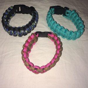 Jewelry - Cute Survival Bracelets worn once