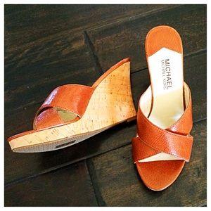 Michael Kors CrissCross Sandals