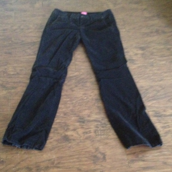The Limited - Black Velvet Bootcut Jeans from Sarah's closet on ...