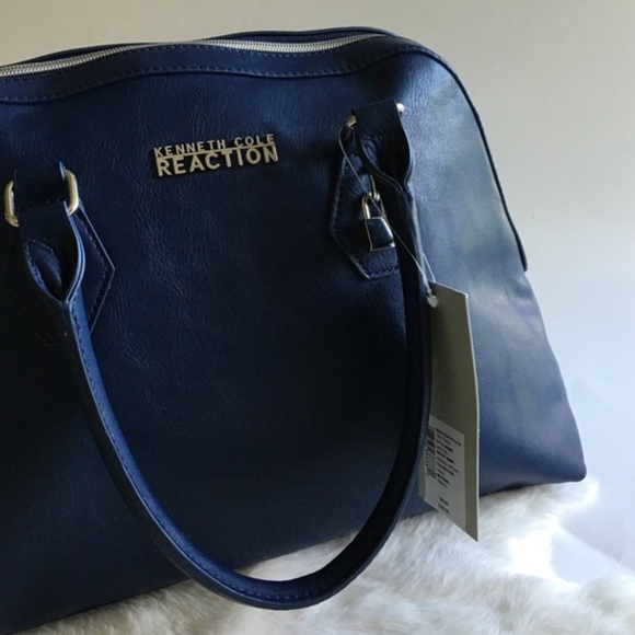 70% off Kenneth Cole Reaction Handbags - Gorgeous Navy Blue ...