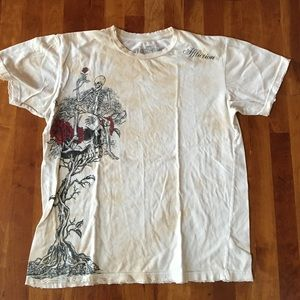 Affliction Other - 👊🏻💀🌹Host Pick Affliction skull & roses t-shirt