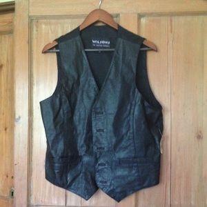 Wilsons leather vest