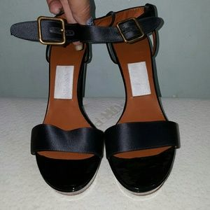 Lanvin Shoes - Lanvin patent black platform 2008 collection