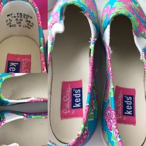 7a5fb5b2d6790b Lilly Pulitzer Shoes - NIB Lilly Pulitzer Strawberry Keds Sneakers, 7.5