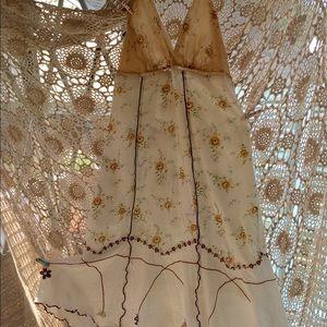Dresses & Skirts - Vintage 100% cotton halter sundress⭐️price drop🌙