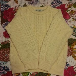 Aran crafts Sweaters - Authentic wool sweater from Ireland
