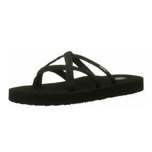 Teva Shoes - | Teva | Olowahu Sandal Mix B Black on Black