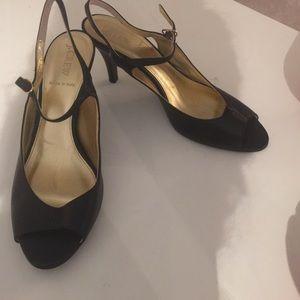 New J.CREW Black Heels