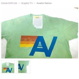 Aviator Nation Tops - Aviator Graphic Tee